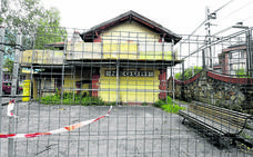 Vecinos de Neguri reúnen más de 700 firmas para que arreglen la vieja estación