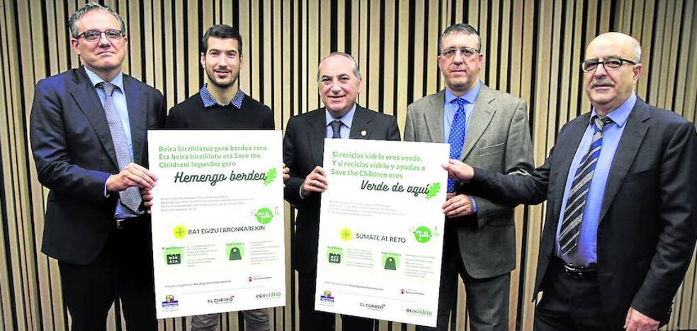 Los vizcaínos reciclan más por solidaridad