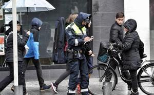 Las 10 infracciones más frecuentes que cometen los ciclistas en Vitoria y sus multas