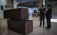 El Bellas Artes recupera el 'Bilbao' de Richard Serra