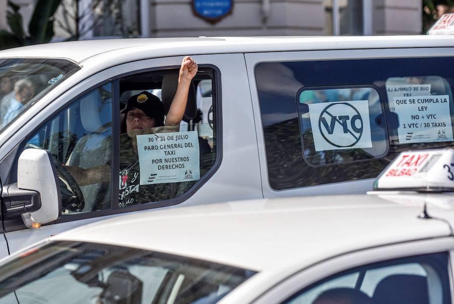 Uber paraliza por ahora la búsqueda de conductores en Bilbao