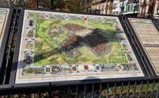 Un plano de la época pone en valor el pasado medieval de Orduña