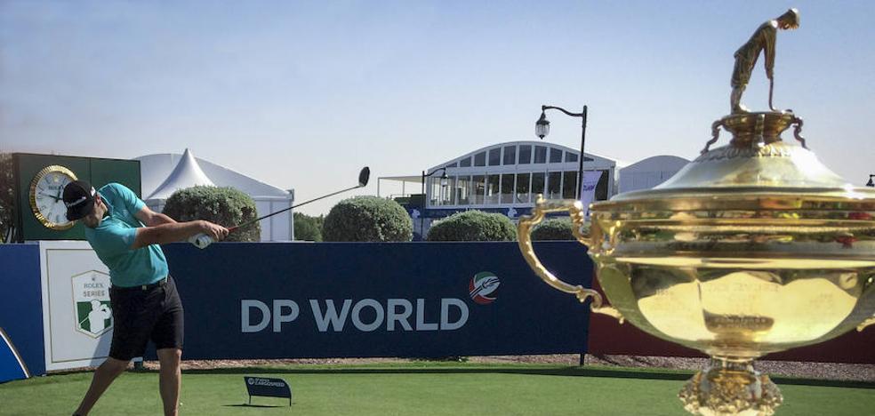 Rahm defiende a dentelladas su título en Dubái