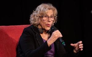 Carmena descarta hablar con Iglesias para resolver la crisis de Podemos