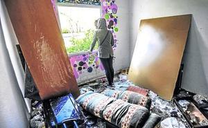 La vida de los 'okupas' de Olárizu: «No quiero ir a un albergue»