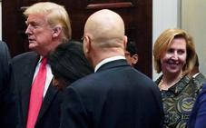 Melania Trump se convierte en la primera esposa de un presidente en pedir una dimisión