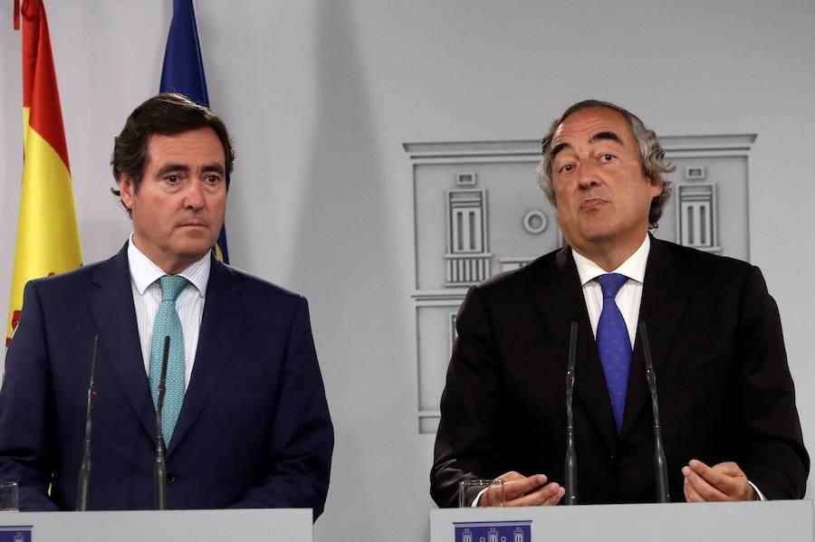 El empresario vasco Antonio Garamendi, único candidato a presidir la CEOE