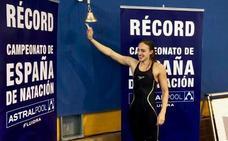 Lidón Muñoz bate el récord de España de 50 metros libres