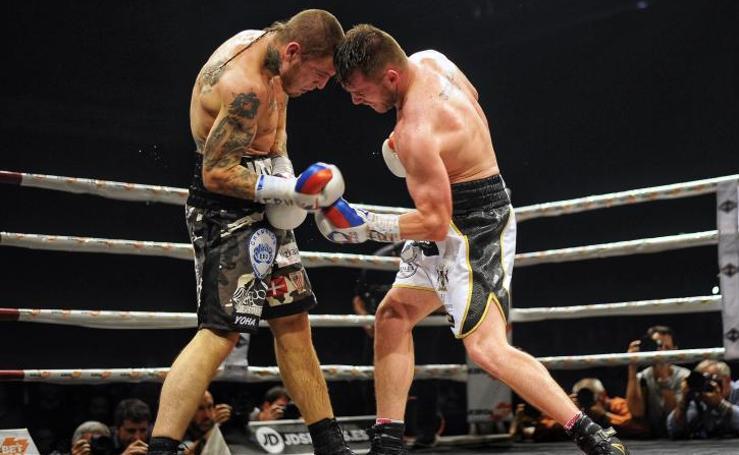 Gala de boxeo en el BEC