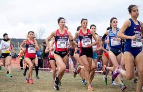 La atleta del BM Bilbao Elena Loyo se sube al podio en Soria y se acerca al Europeo de cross