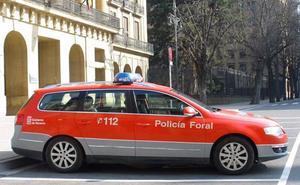 Detenido por robar un autobús y conducirlo de forma temeraria desde Tafalla a Olite