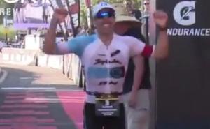 Eneko Llanos vuelve a ser el mejor en el Ironman de Arizona