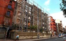 El derribo de la fachada de la calle Vitoria 9 y 11, pendiente solo del dictamen de la Junta