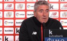 Joseba Agirre: «El equipo está en buena dinámica pero tenemos que seguir mejorando»