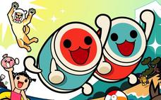 Taiko no Tatsujin Dream'n Fun: baquetas al aire