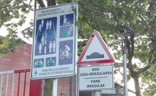 Oposición y vecinos exigen mejoras en un paseo de Basauri