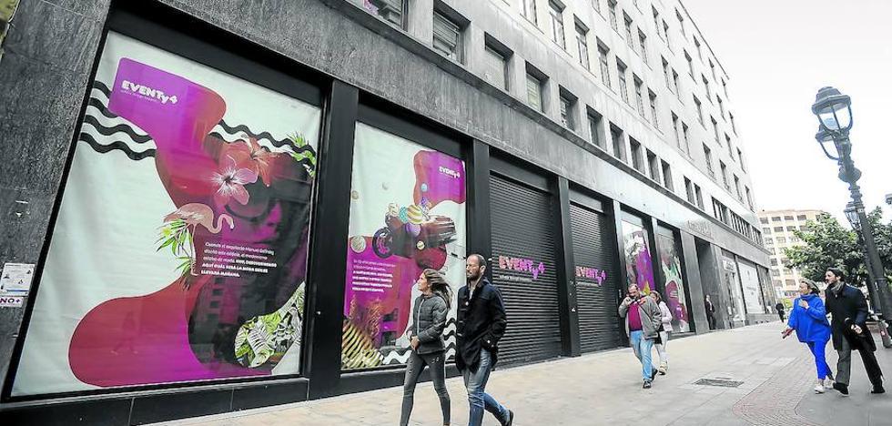 El BBVA montará su oficina más vanguardista de España en el antiguo Corte Inglés de Ercilla