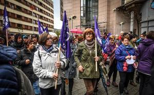 Una marcha multitudinaria contra la violencia machista recorrerá este sábado la Margen Izquierda