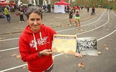 Rosi Talavera, la atleta vasca que fue la primera campeona de España de Maratón