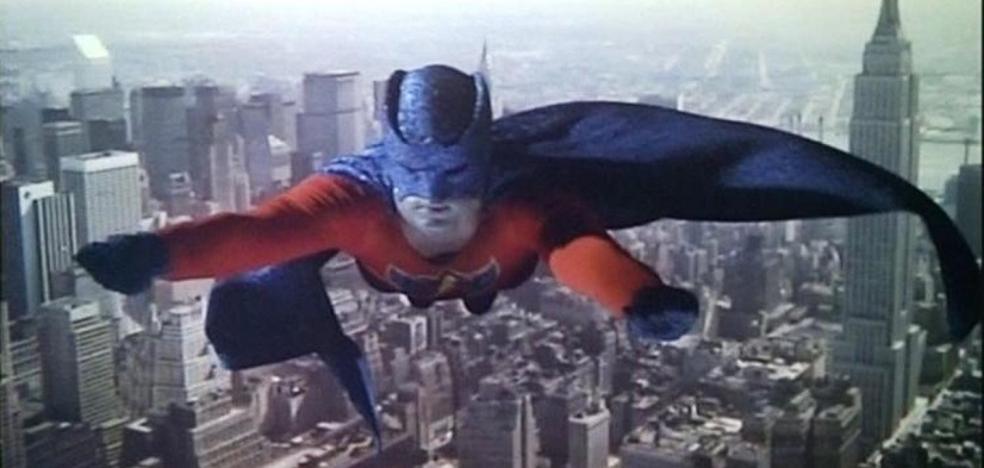 Así era 'Supersonic Man', la réplica de Superman en el cine español