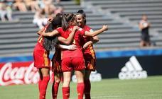 España golea a Canadá y se clasifica para cuartos de final del Mundial sub'17 de Uruguay