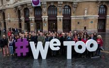 Las fotos de apoyo al #WeToo contra la violencia de género