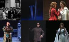 Seis momentos para celebrar las 1.000 representaciones de ópera en Bilbao