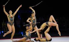 Puro espectáculo en el Euskalgym