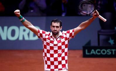 Croacia asalta Lille y se queda a las puertas de su segunda Copa Davis