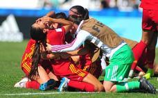 España, a semifinales del Mundial sub17 con un decisivo gol de la rojiblanca Nerea Nevado