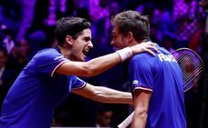 El dobles francés revive la final de la Davis