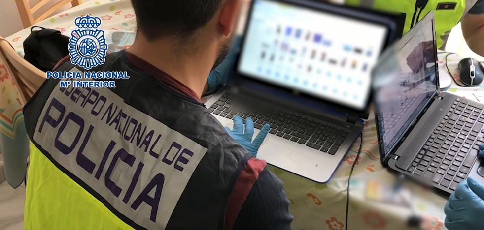 Golpe a la pornografía infantil en internet con 79 detenidos, 8 de ellos en el País Vasco