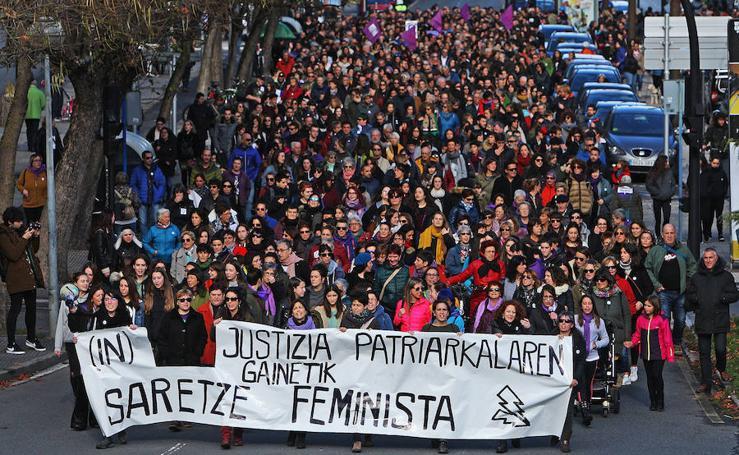 Vitoria sale a la calle en el Día de la Eliminación de la Violencia contra la Mujer