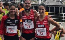 Elena Loyo concluye segunda en la 30ª edición de la Santurce-Bilbao