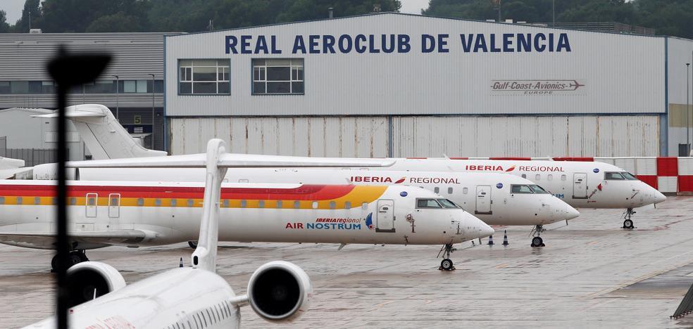 Sigue la huelga de pilotos de Air Nostrum con otros cuatro vuelos cancelados hoy en Loiu