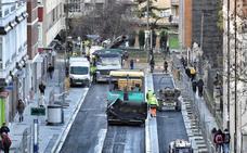 Comienza el asfaltado en la calle San Ignacio