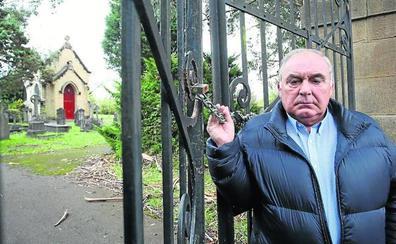Un vizcaíno litiga con el Gobierno británico por la propiedad de un cementerio en Loiu