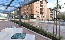 Las terrazas de la calle Sabino Arana de Berango tendrán la misma estética