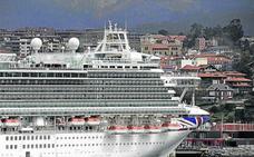 Condenado por polución en Francia un crucero que hace escala en Getxo