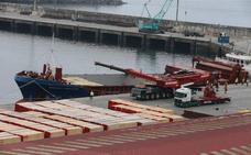 Puertos refuerza el muelle Xixili de Bermeo y pone a punto el resto de la dársena comercial