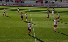 El Bilbao Athletic noquea al Salzburgo en un bolo intenso
