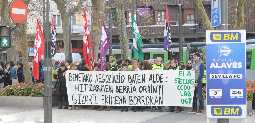 Los sindicatos de la concertada piden una oferta de mejoras «razonable» o habrá más huelgas