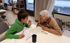 «Ojalá los niños vinieran a visitarnos a diario porque nos sentimos útiles»