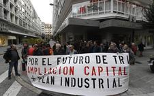 Los sindicatos piden una ampliación de capital en Tubos Reunidos