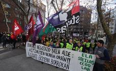 La tercera huelga de la enseñanza concertada mantiene un «amplio seguimiento», según los sindicatos