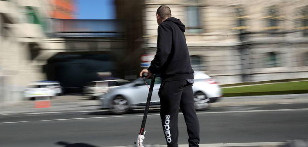 Vitoria, a la espera de que la DGT regule los patinetes eléctricos