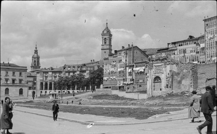 Exposición 'La ciudad perdida. El convento de San Francisco', en la Fundación Sancho el Sabio