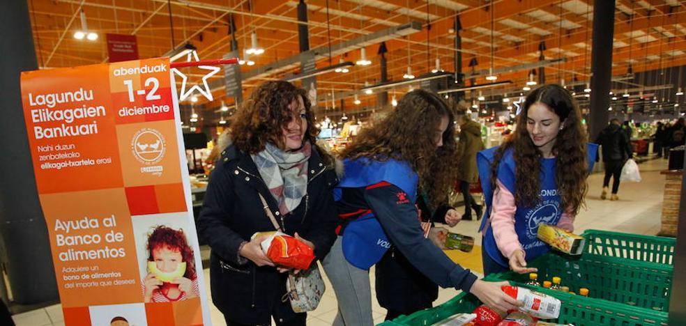 Qué y cómo donar en la Gran Recogida de Alimentos de Álava