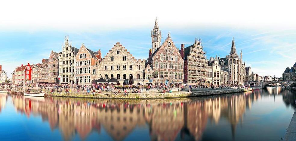 El triángulo mágico de Flandes