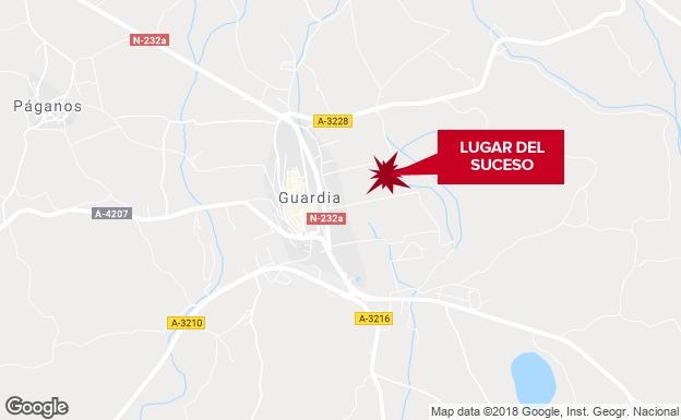Un hombre fallece en Laguardia tras ser atropellado por un turismo